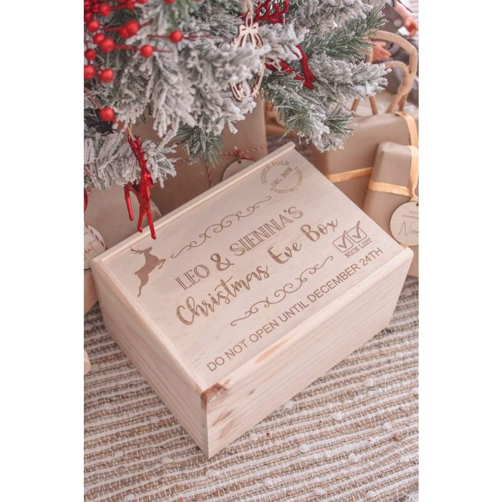 Christmas Box - Raindeer - Decor