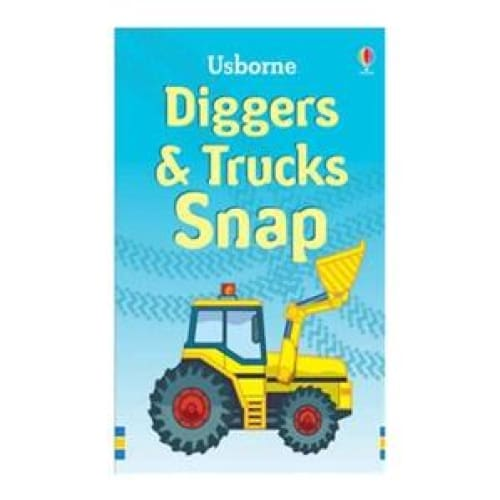 Diggers & Trucks Snap Cards - play