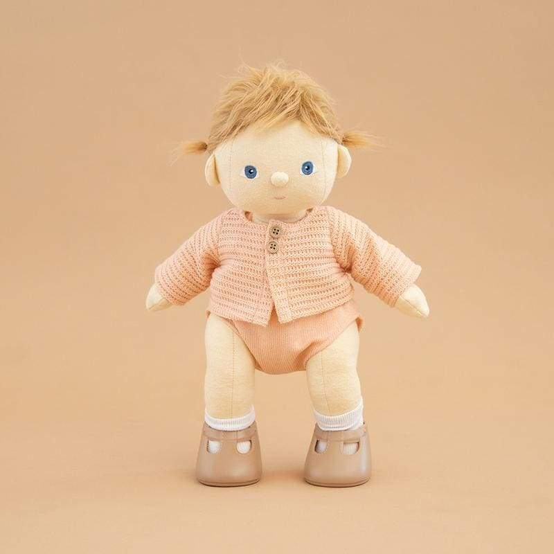 Dinkum Doll - Cardigan - Rose - Rose - Play>Dolls & Clothing