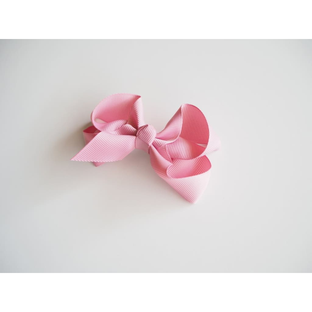 Dusty Pink - Medium Bow Clip - accessories