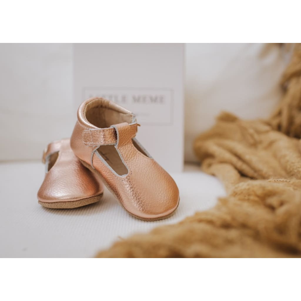 Edith Tbar - Rose Gold - Wear>Babies>Footwear