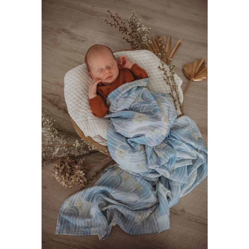 Eventide Miss Kyree Loves Organic Muslin Wrap - Muslins Wraps & Swaddles