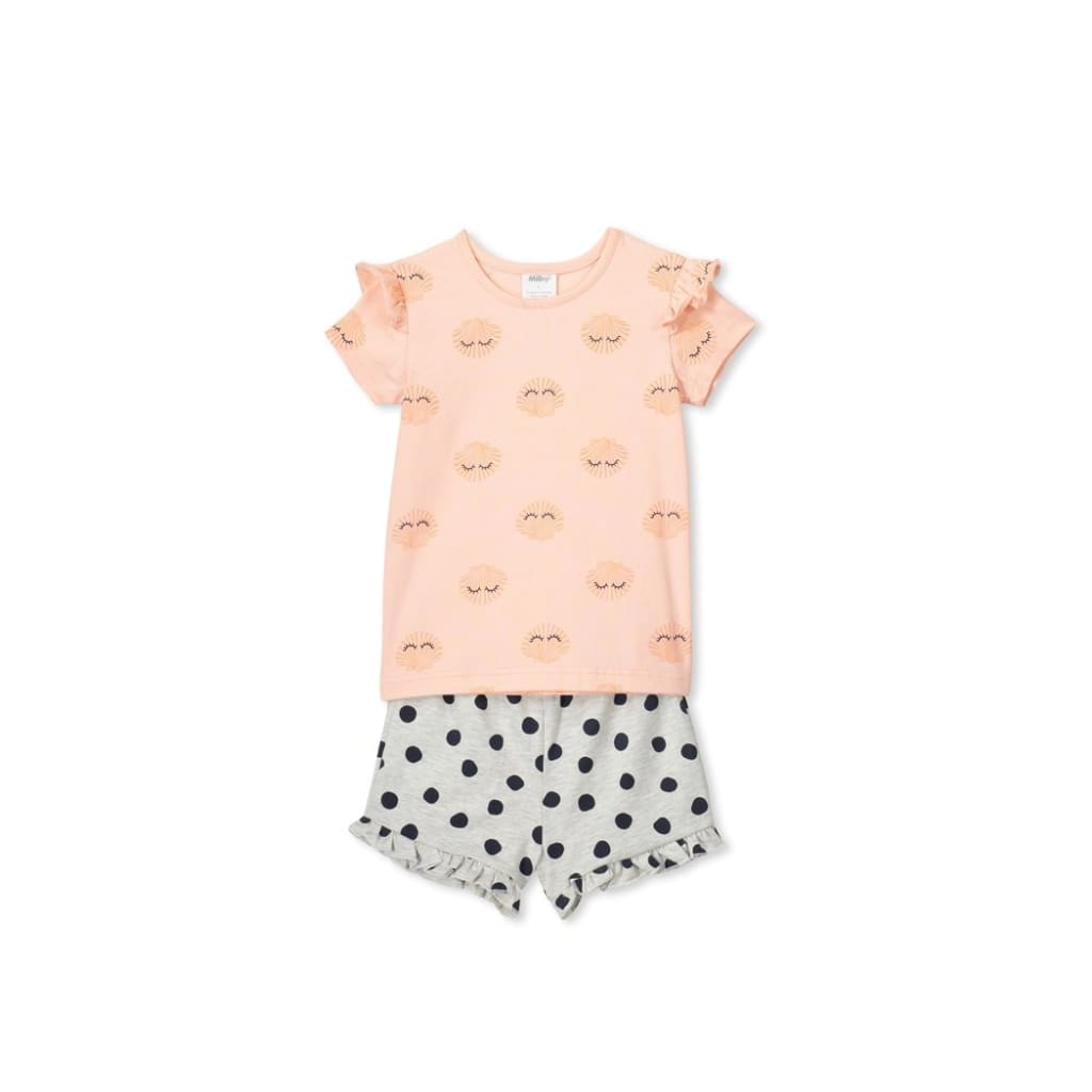 Milky - Shells PJ's - 2 - Wear>Kids>Girls