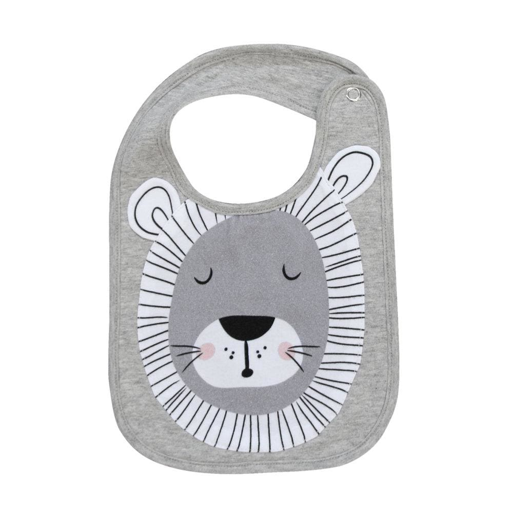 Mister Fly Face Bib - Lion - babies
