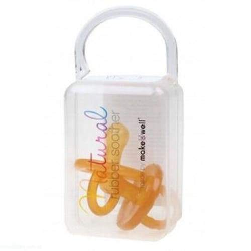 Natural Rubber Soothers - Twin Pack - Everyday>Babies>Dummies