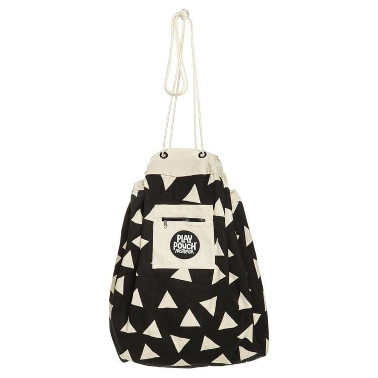 Printed Play Pouch - Triangles - play