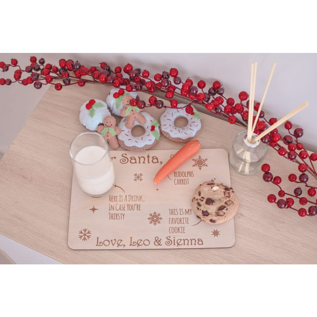 Santa Tray - Decor