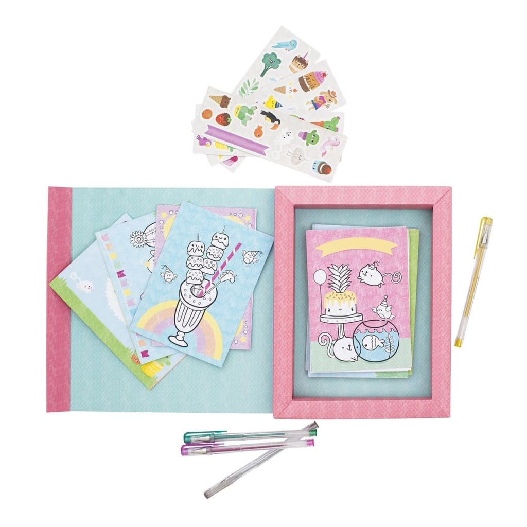 Tiger Tribe - Card Making Kit Fiesta Fun - play