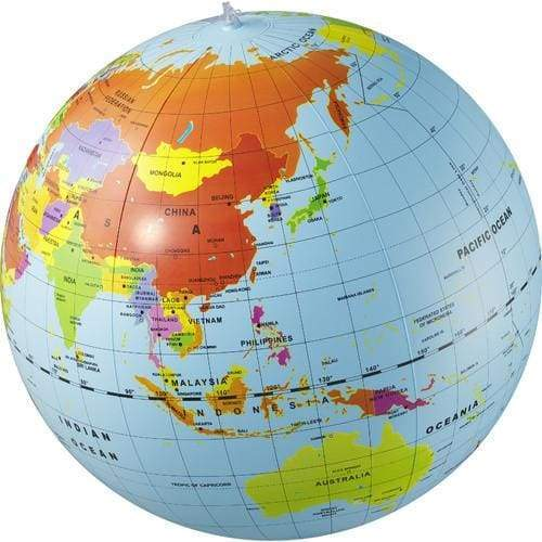 Tiger Tribe - Large World Globe 50cm - play
