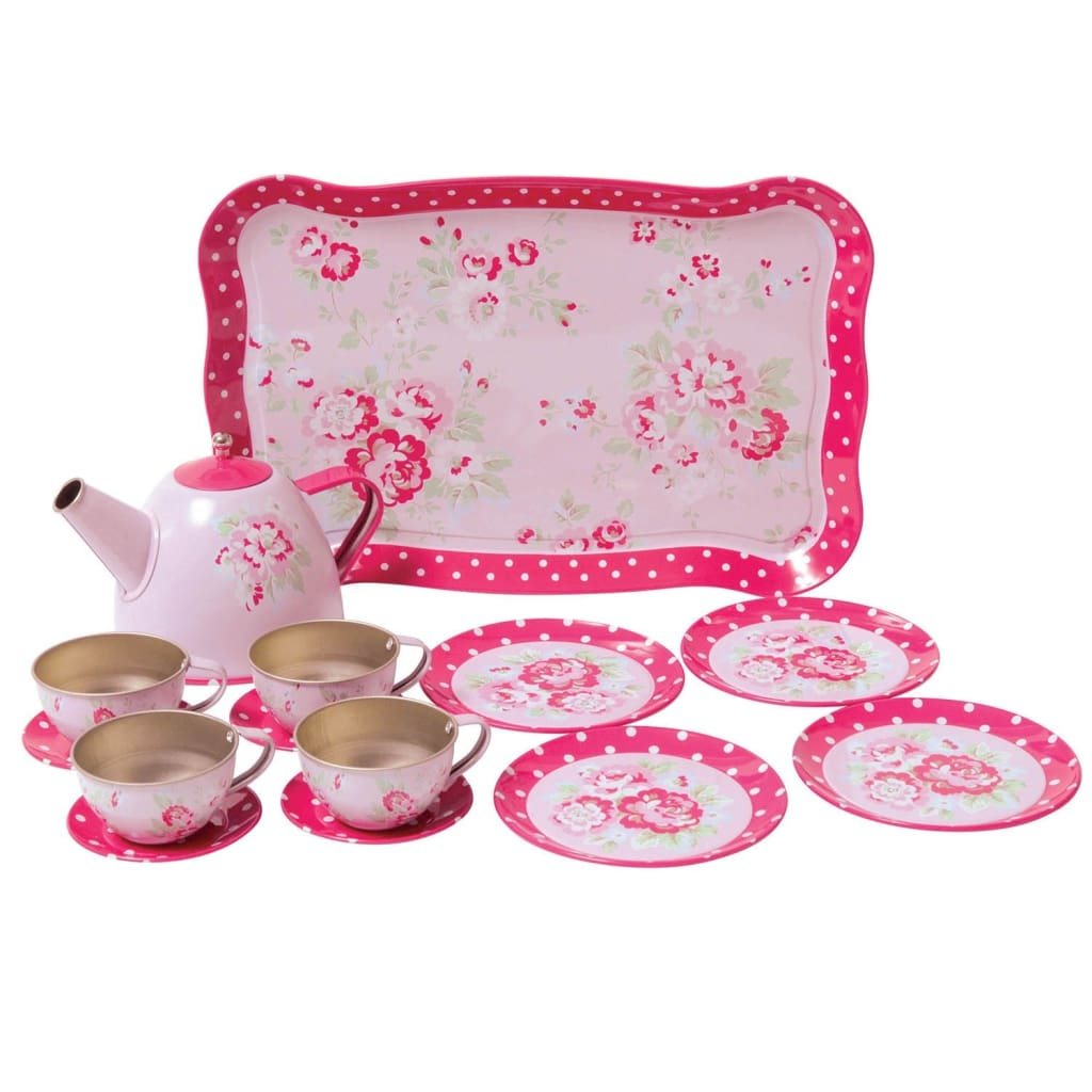 Tiger Tribe - Pink Roses Tea Set - play
