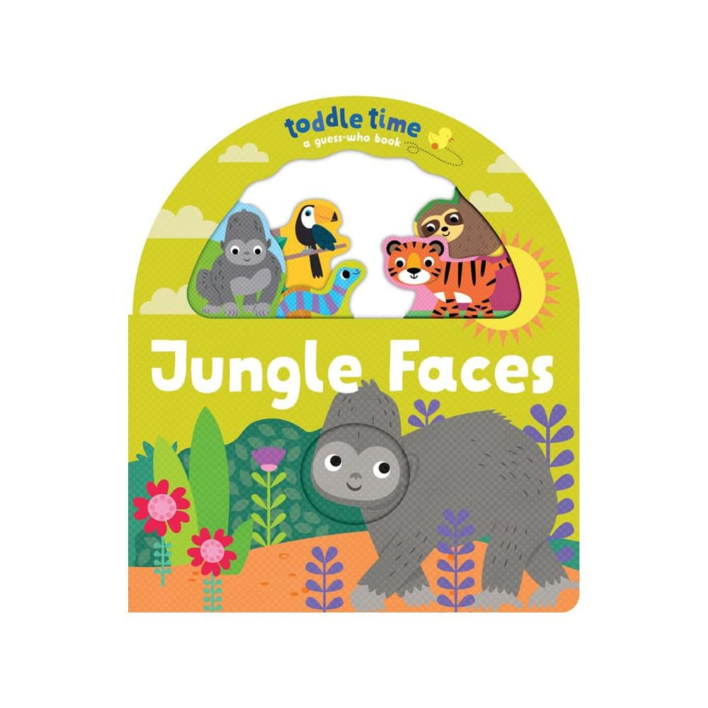 Toddle Time: Jungle Faces - Read>General
