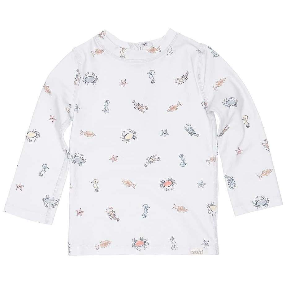 Toshi Swim - Rashie Long Sleeve - Rock Pool - Wear>Babies>Boys