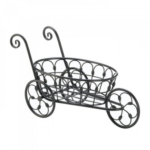 Black Iron Flower Stand