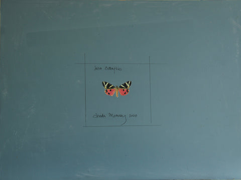 Butterflies (reverse side)
