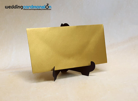 Gold Pearlescent DL Envelope