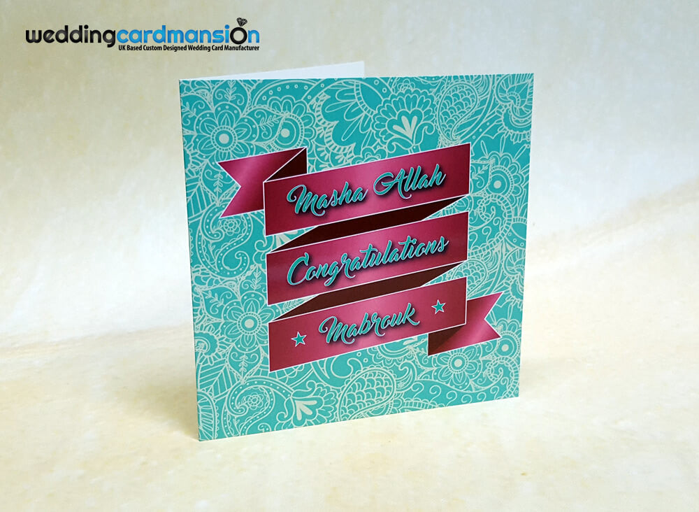 Masha Allah, Congratulations Greeting Card