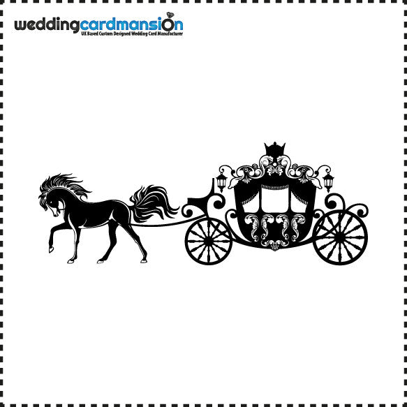 Horse & Carriage - Wedding Card Mansion