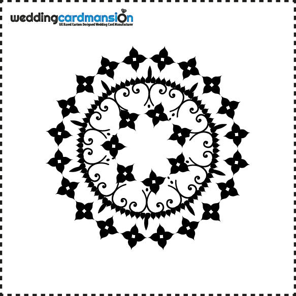 Circle Foil - Wedding Card Mansion
