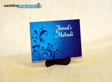 Mendhi Card MC002 - Wedding Card Mansion