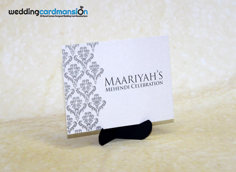 Mendhi Card MC004 - Wedding Card Mansion