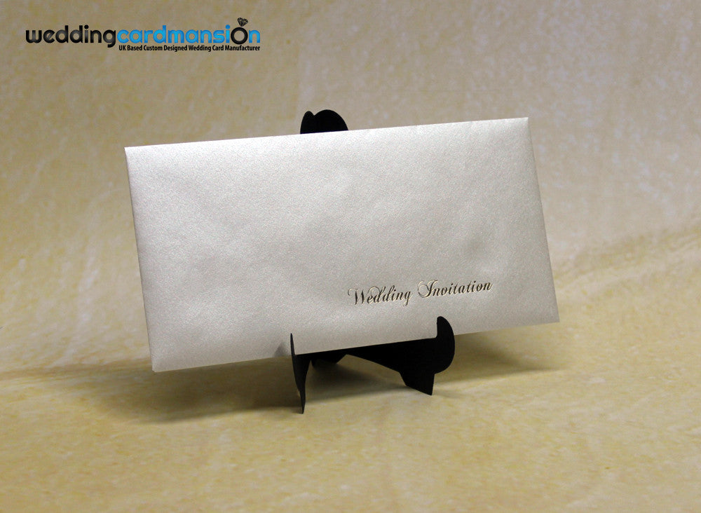 Foiled Pearlescent DL Envelope - Wedding Card Mansion