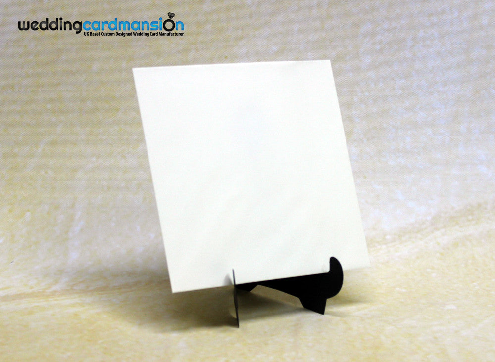 Large Square Ivory Envelope - Wedding Card Mansion