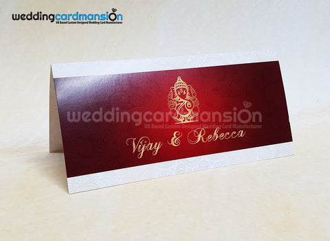 Ganesh wedding invitation. WC417