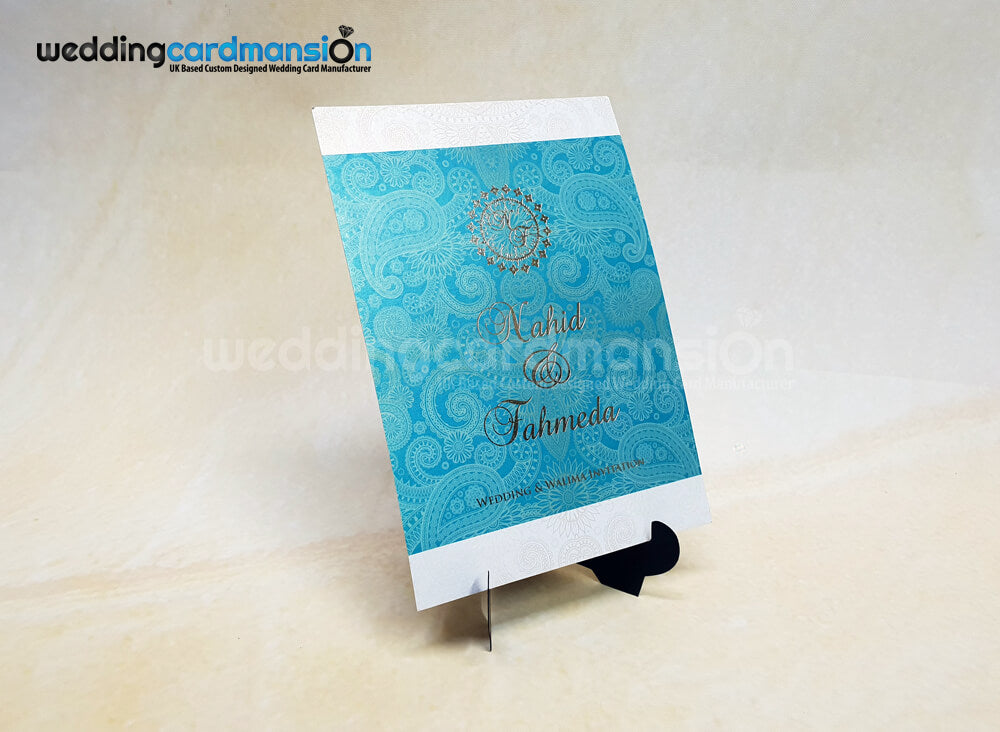 A5 wedding invitation. WC424
