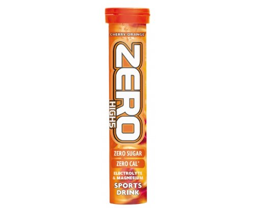 High5 Zero Electrolyte Drink -Tube of 20 Tabs - Cherry Orange