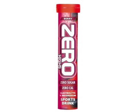 High5 Zero Electrolyte Drink -Tube of 20 Tabs - Berry Flavour
