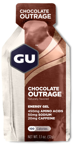 Gu Energy Gel (24x32g)- Chocolate Outrage - Bikenut - 1