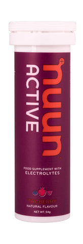 Nuun Active Electrolytes - Tri Berry - Tube of 10 Tabs - Bikenut - 1