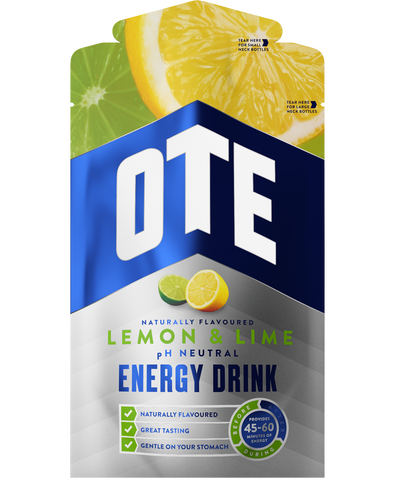 OTE Energy Drink sachet - Lemon & Lime 43g