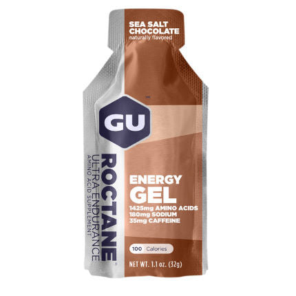 Gu Roctane Energy Gel (24x32g) - Sea Salt Chocolate