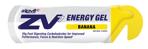 Zipvit Sport ZV7 Energy Gel - Banana  - 24 x 60ml