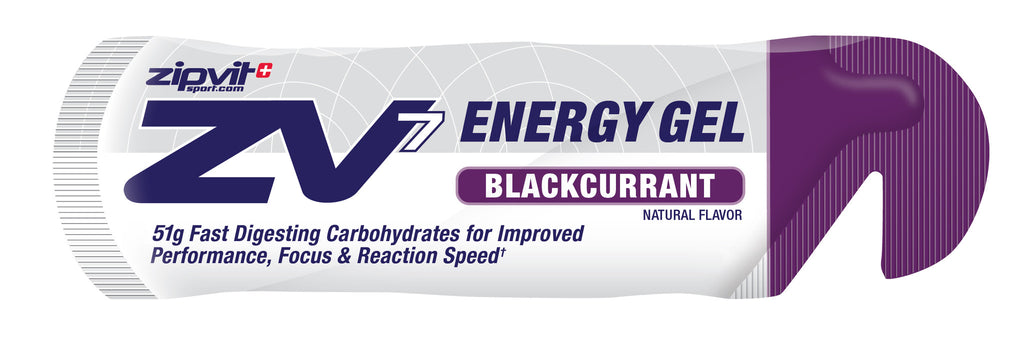 ZV7 Energy Gel - Blackcurrant  - 24 x 60ml - Bikenut - 1