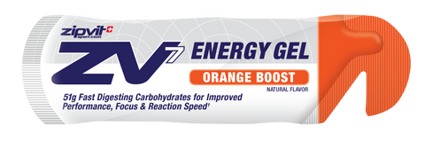 ZV7 Energy Gel - Orange Boost  - 24 x 60ml - Bikenut - 1