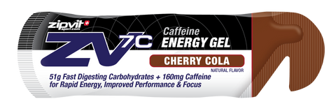 Zipvit Sport ZV7c Caffeine Gel - Cherry Cola  - 24 x 60ml
