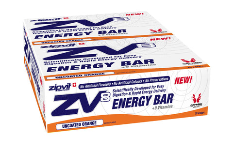 Zipvit Sport Zipvit ZV8 Energy Bar - Uncoated Orange