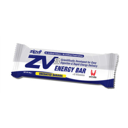 Zipvit Sport Zipvit ZV8 Energy Bar - Uncoated Banana