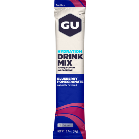 Gu Hydration Drink Mix - 24 Serving Stickpack - Blueberry Pomegranate