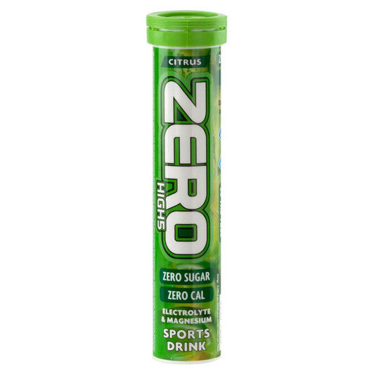 High5 Zero Electrolyte Drink -Tube of 20 Tabs - Citrus Flavour