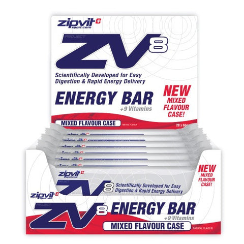 Zipvit Sport Zipvit ZV8 Energy Bar - Mixed Flavour Case