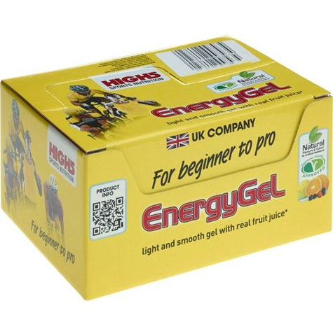 High 5 Energy Gel 40g - Mixed Flavour Box