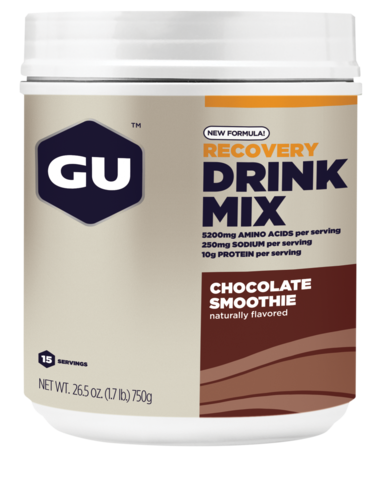 Gu Recovery Drink Mix 750g - Chocolate Smoothie