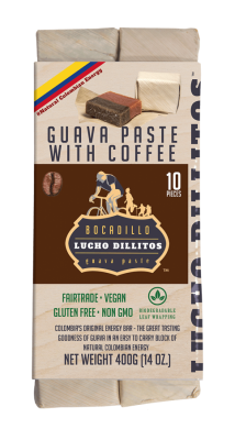 Lucho Dillitos Bocadillo's - Colombian Guava Energy Bar - Coffee