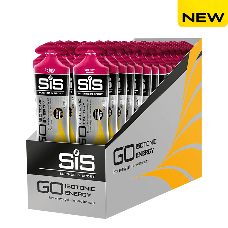 Science in Sport SiS GO Isotonic Gel 60ml - Cherry