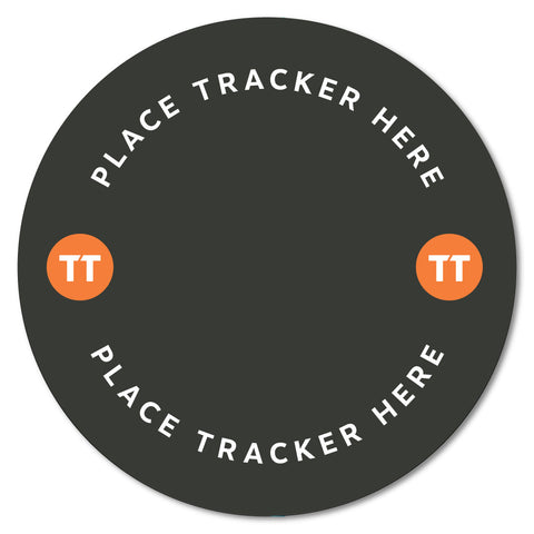 Table Tracker Mat Redondo con hueco