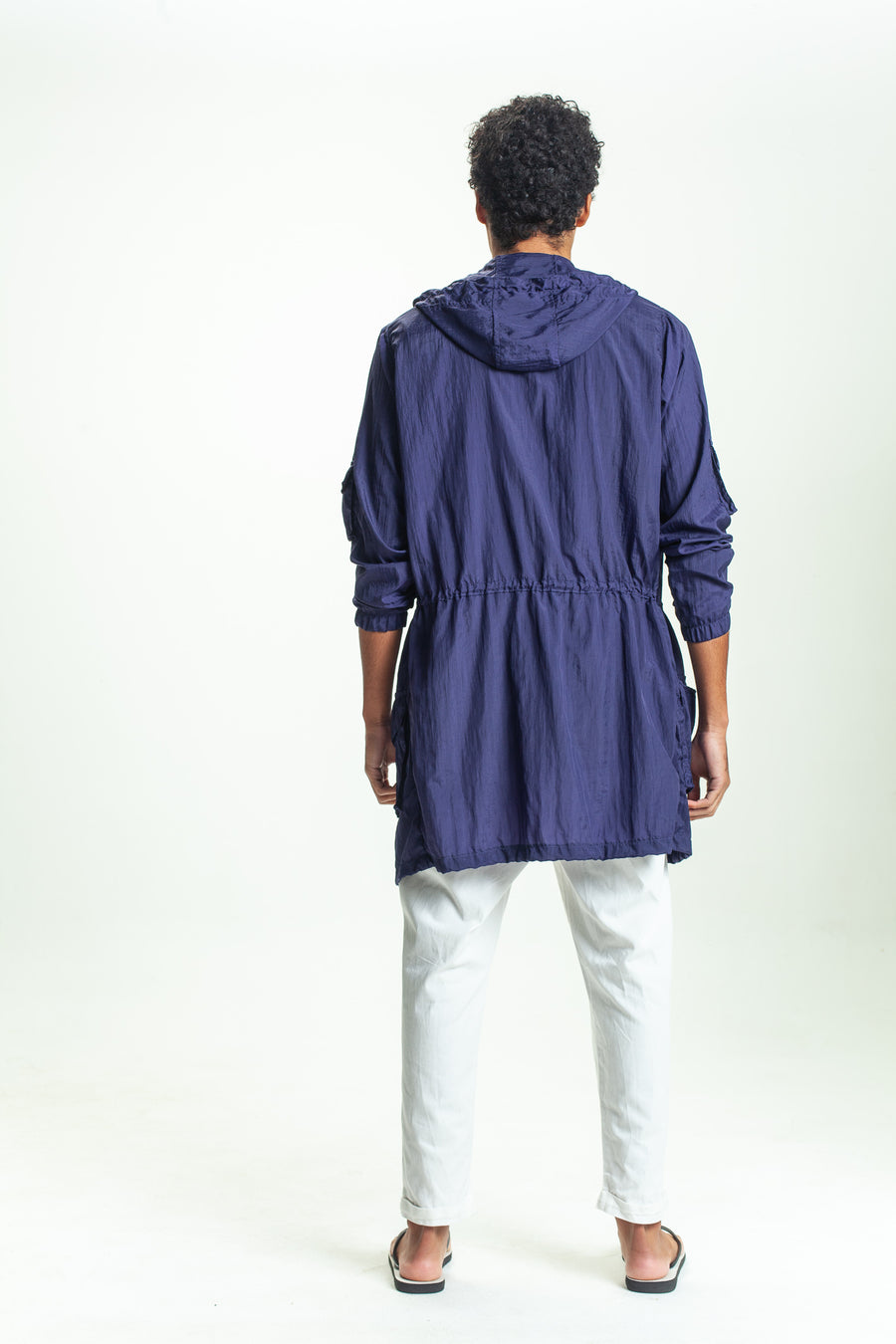 PARKA OVERSIZED NIGHT BLUE