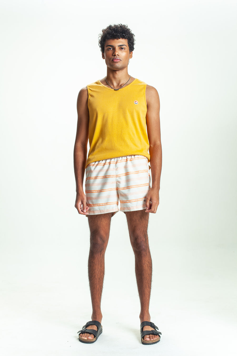 SHORTS LISTRA ECO OFF + ORANGE